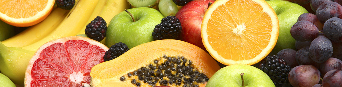 stock photo of assorted fruit