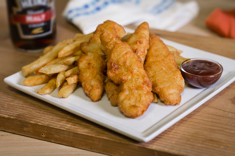 Photo of beer battered chicken