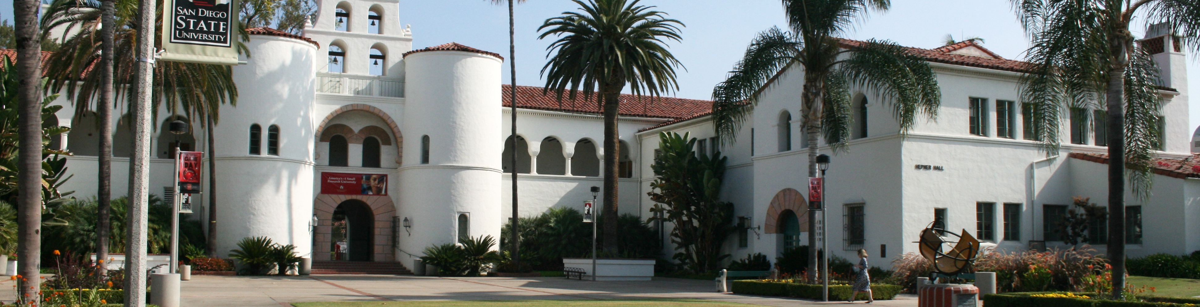 Photo of SDSU Hepner Hall
